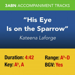 His Eye Is on the Sparrow -...