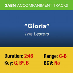 Gloria - Accompaniment track