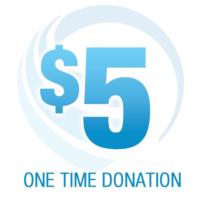 $5.00 Donation