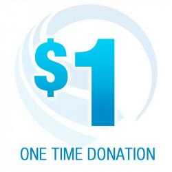 $1.00 Donation
