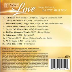 It Was Love -Songs Written by Danny Shelton