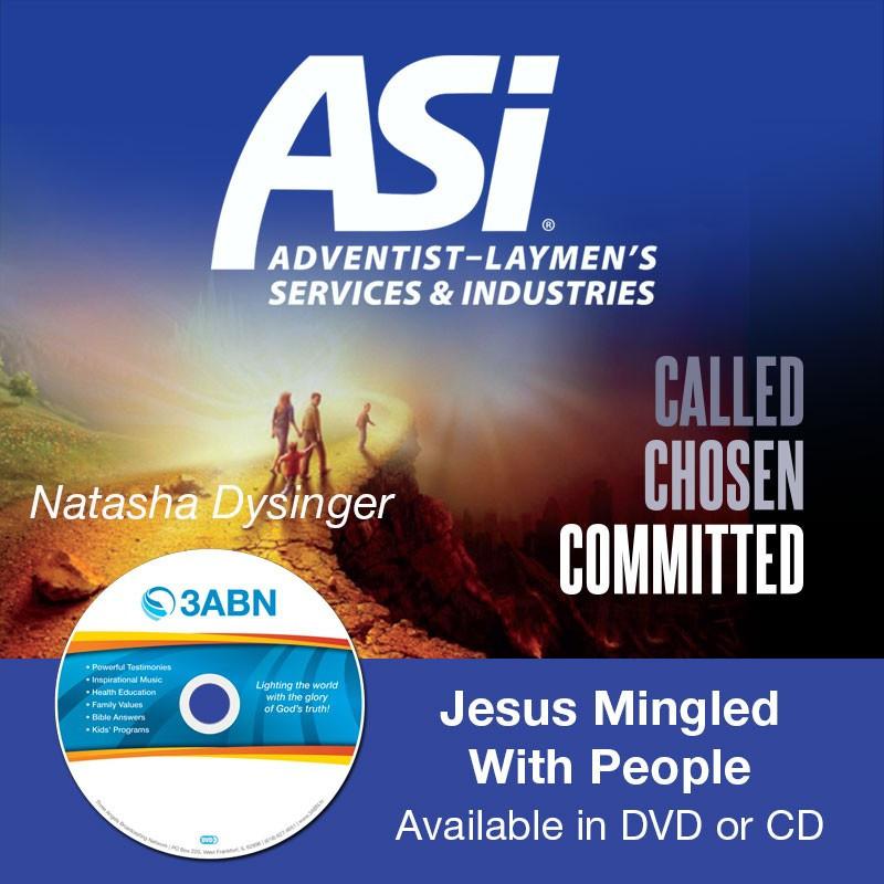 Jesus Mingled With People