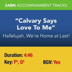 Calvary Says Love To Me - Performance Track