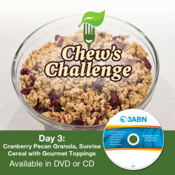 Day 3: Cranberry Pecan Granola, Sunrise Cereal with Gourmet Toppings