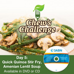Day 5: Quick Quinoa Stir Fry, Amenian Lentil Soup