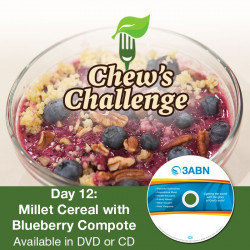 Day 12: Millet Cereal with Blueberry Compote