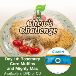 Day 14: Rosemary Corn Muffins and Mighty Mac