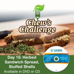 Day 15: Herbed Sandwich Spread, Stuffed Shells