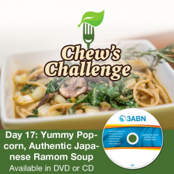 Day 17: Yummy Popcorn, Authentic Japanese Ramom Soup