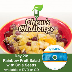 Day 20: Rainbow Fruit Salad with Chia Seeds
