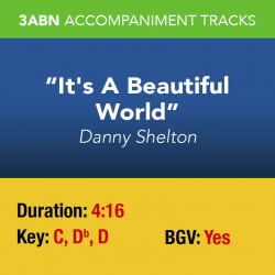 It's A Beautiful World - Performance Track