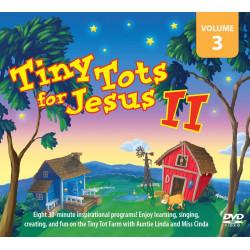 Tiny Tots for Jesus II – DVD VOL 3