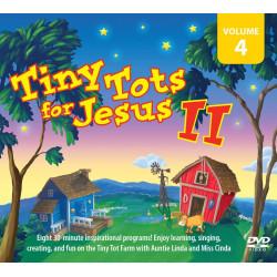 Tiny Tots for Jesus II – DVD VOL 4