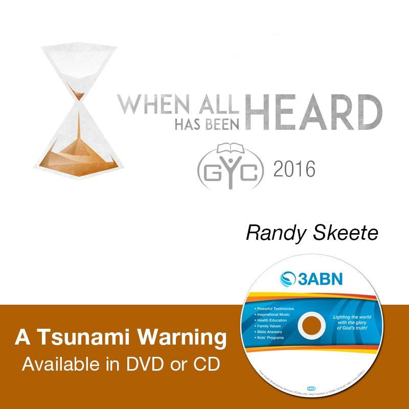 A Tsunami Warning