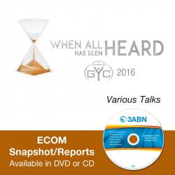 ECOM Snapshot/Reports