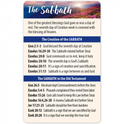 The Sabbath Bible Reference...