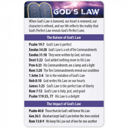 God's Law Bible Reference...