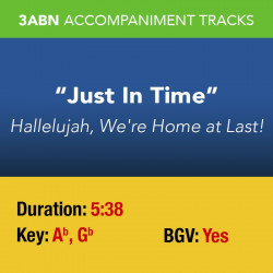Just In Time - Performance Track