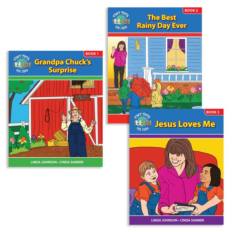 Tiny Tots for Jesus (3 vol. book set)