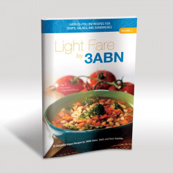 Light Fare by 3ABN Recipe Book