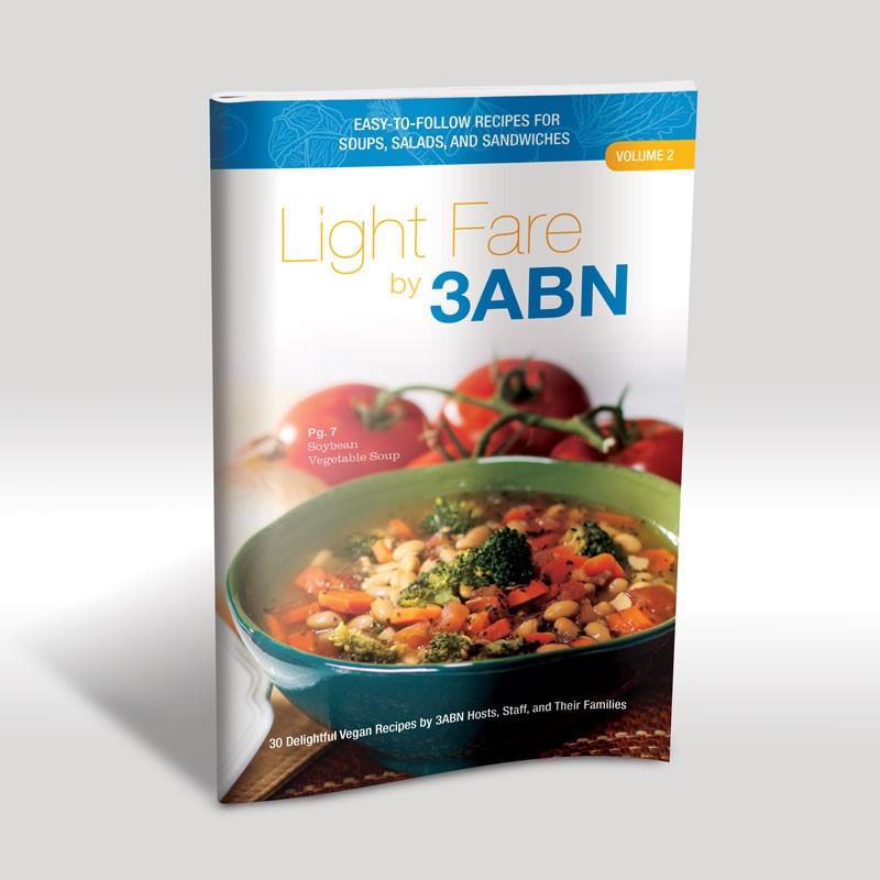 Light Fare by 3ABN Recipe Book