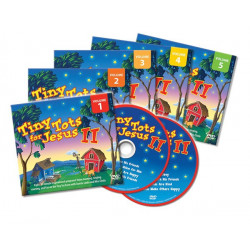 Tiny Tots II DVD (5 Volumes)