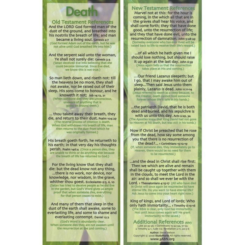 Death - 3ABN Study Mark Pack