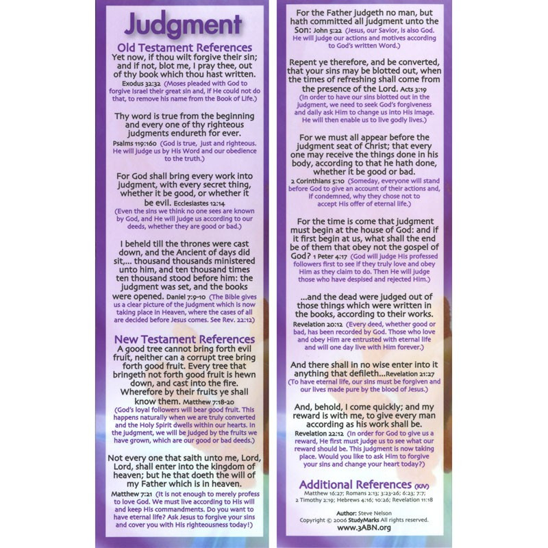 Judgment - 3ABN Study Mark Pack