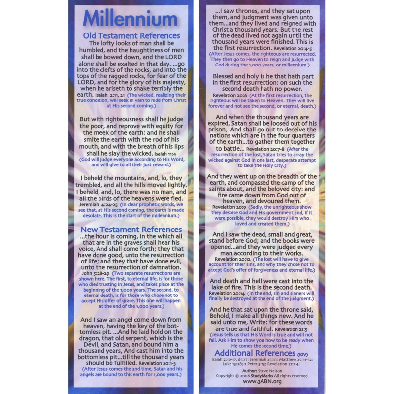 Millennium - 3ABN Study Mark Pack