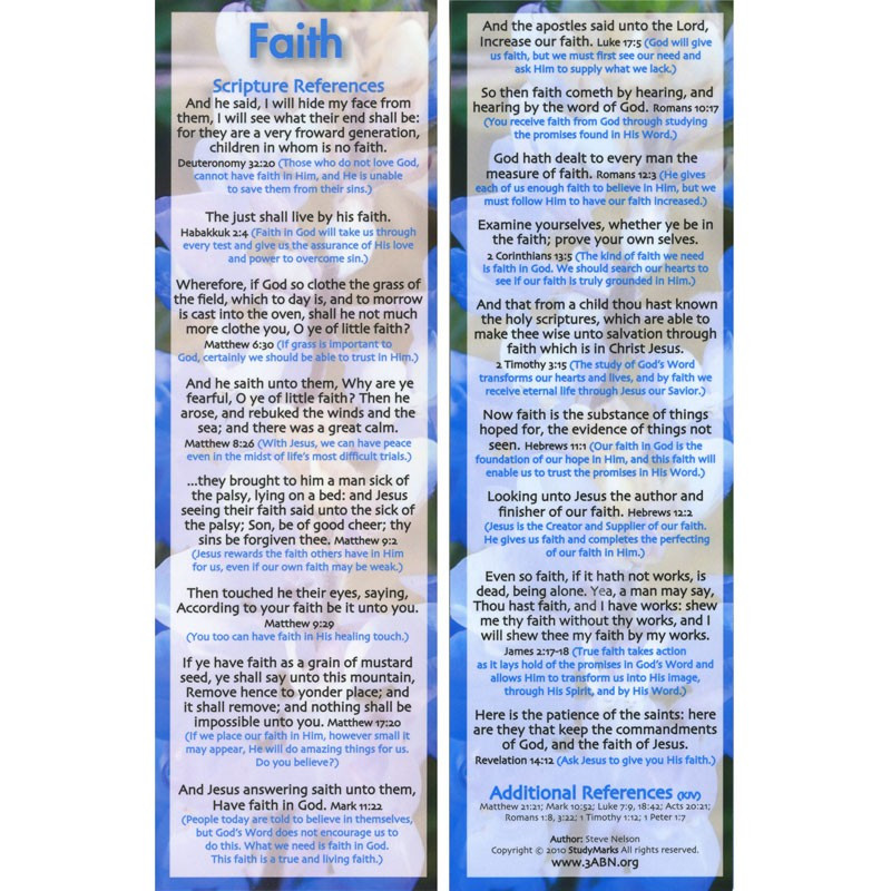 Faith - 3ABN Study Mark Pack