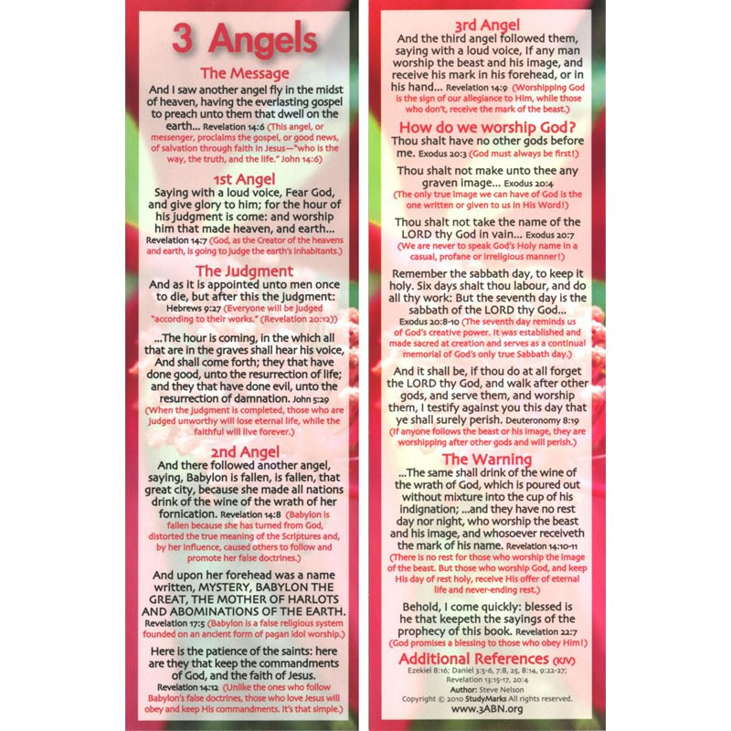 3 Angels - 3ABN Study Mark Pack