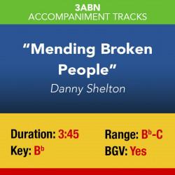 Mending Broken People - Digital Accompaniment Track