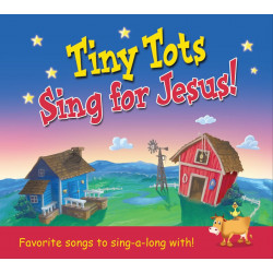 Tiny Tots Sing For Jesus CD